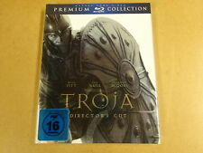 PREMIUM COLLECTION BLU-RAY / TROJA/ TROJE ( BRAD PITT, ERIC BAMA, ORLANDO BLOOM)
