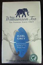 Williamson  Tea Earl  Grey  50 Tea bags  12.2g  Elephant