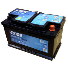 EXIDE AGM Start-Stopp-Batterie EK800 EN (A): 800 12V 80AH neuestes Model 2014/15