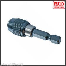 """BGS - Werkzeug - 1/4"""" Automatic Bit Holder - 50 mm - Pro Range - 1730"""