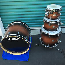 PDP PLATINUM 4pc MAPLE DRUM SET KIT