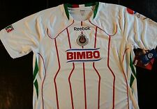 Reebok Chivas Guadalajara Mexico Bicentenario Authentic Soccer Futbol Jersey XL
