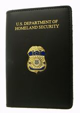 Immigration & Customs Enforcement Agent ID Case w/ICE Agent Mini Badge Pin