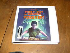 IT'S THE FIRST DAY OF SCHOOL FOREVER! by R.L. STINE UNABRIDGED AUDIOBOOK