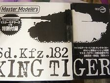 "Dragon Can.do 1/144 Special Limited Edition King Tiger, ""Master Modelers Vol.19"""