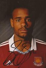 WEST HAM: RICARDO VAZ TE SIGNED 6x4 PORTRAIT PHOTO+COA