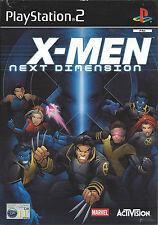 X-MEN NEXT DIMENSION for Playstation 2 PS2 - PAL