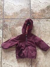 Burberry baby Berry hooded waterproof jacket sz 12 MONTHS