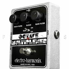 Electro-Harmonix Octave Multiplexer Sub Generator EHX Guitar Effects Pedal - NEW