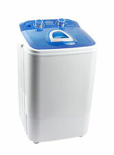DMR 46-1218 Single Tub Portable Mini Washing Machine wid steel dryer basket-BluE