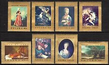 Poland - 1967 Paintings - Mi. 1808-15 MNH