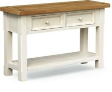 Minack Oak Console Table / Large Painted Hall Table