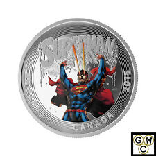 2015 'Superman #28 (2014)-Iconic Superman' Colorized Prf $20 Silver Coin (17354)