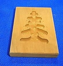 Vintage Wooden German SPRINGERLE COOKIE MOLD #N1