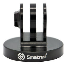 Smatree Aluminum Tripod mount Adapter GoPro Hero 4 3 2 Sjcam sj4000 Camera Black