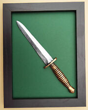Large Scale Framed Royal Marine Commando Dagger Badge