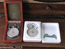 A LOT of TWO  Vintage RUSSIAN (USSR) SLAVA Stop Watch Chronometer  SDS pro 1-2-0