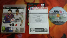 FIFA 12 PAL ESP PLAYSTATION 3 PS3 INVIO 24/48H SCATOLA BOXED