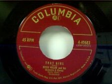 "MITCH MILLER ""THAT GIRL / ST LAWRENCE RIVER"" 45"