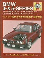 BMW E30 316 318 320 325 & E28 E34 518 520 525 528 530 535 REPAIR MANUAL * NEW *