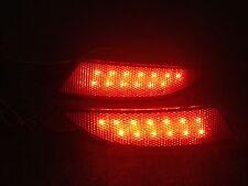 For Ford Focus 2012 2013 2014  Red lens LED Rear Bumper Reflector fog Light Lamp