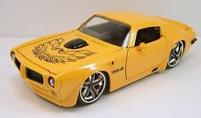 Jada BigTime Muscle 1972 Pontiac Trans AM 1:24 model car Yellow J28