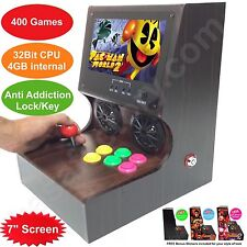 "7"" Screen NEW Z Series IV Arcade Machine 400 Video Games 32Bit CPU 4GB memory"