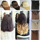 """Long 8 Piece Clip In Hair Extensions 17"""" 23""""24"""" 26"""" Thick full head extension"""