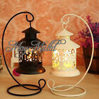 Iron Moroccan Candlestick Candleholder Candle Stand Light Holder Lantern