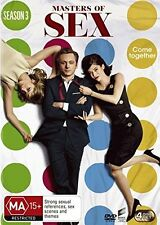 MASTERS OF SEX   - COMPLETE SEASON 3 -  DVD - UK Compatible - New & sealed