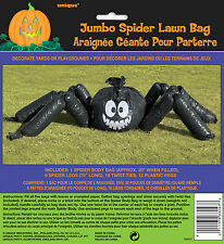 Halloween Giant Spider Lawn Leaf Bag Decorations Prop Halloween Garden Decoratio
