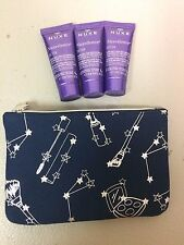 Lot of 3 Nuxe Nuxellence Detox Anti-Aging Care .50 oz (1.50oz total) + Ipsy Bag