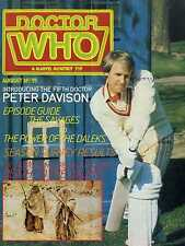 DOCTOR WHO MAGAZINE #55 PETER DAVISON, DEATH TO THE DALEKS, KIT PEDLER