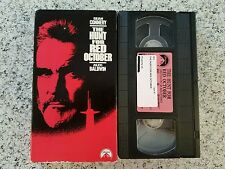 The Hunt For Red October Alec Baldwin Sean Connery VHS Video Tape