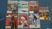 (7) Different Special Sports Illustrated SI Issues Year in Photos Year in Media