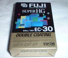 FUJI SUPER HG EC-30 VHS-C VIDEOCASSETTE CAMCORDER  #4927