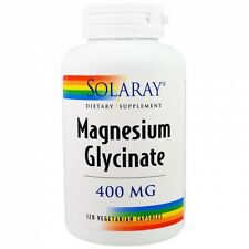 Magnesium Glycinate 400 mg 120 Veggie Caps - Solaray