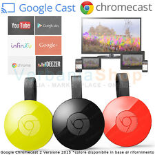 GOOGLE CHROMECAST 2.0 HDMI STREAMING MEDIA PLAYER YOUTUBE INFINITY WiFi ver.2015