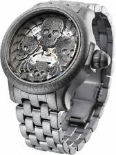 Invicta 48mm Artist Series Bone Collector Quartz  Stainless Steel Watch ,New