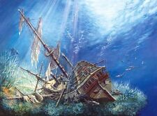 NEW! Castorland Sunk Galleon 2000 piece ship wreck jigsaw puzzle