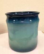 Ocean Art Pottery by Gary L Wilson Cobalt Wheel Thrown Wine Cooler and More 8HW
