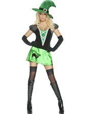 Wicked Bitch Costume Green S UK 8/10 HALLOWEEN CLEARANCE Ladies Fancy Dress