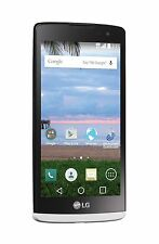 "LG Sunset White 4.5"" Android Smartphone with Triple Minutes - Tracfone - New"