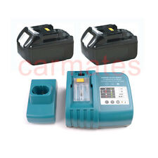 2 Battery For Makita 18V B Li-ion 3.0Ah BDF451 BDF451Z BDF452 BDF454Z+charger OZ