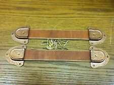 Antique Trunk Hardware-Leather Handles,Ends and Nails for Trunks & Chests-New-nn