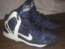 Men's Nike Air Max Hyperaggressor Navy Blue Basketball Shoes US size 10.5