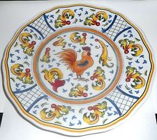 1 Yellow Rooster Salad Plate French Sur La Table Melamine Plastic Fine Quality