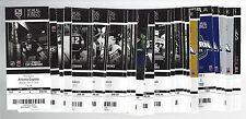 2014-2015 NHL LOS ANGELES KINGS SEASON FULL UNUSED TICKETS LOT - ALL 59 TIX