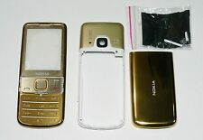 Fascia Housing facia Cover case for Nokia 6700 Classic 6700C case gold