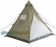 """TIENDA CAMPAÑA tent Tipi, """"Tipi"""", de oliva, 290x270x225 cm32133B MF"""
